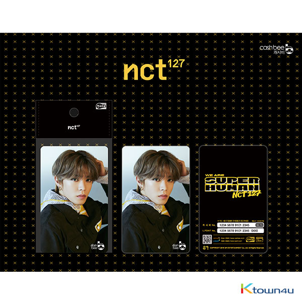 NCT 127 - Traffic Card (Yuta) *There may be primary and secondary shipments for this item according to the order of payment.