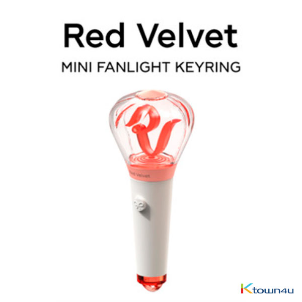 Red Velvet - OFFICIAL MINI LIGHT STICK KEYRING (*Order can be canceled cause of early out of stock)