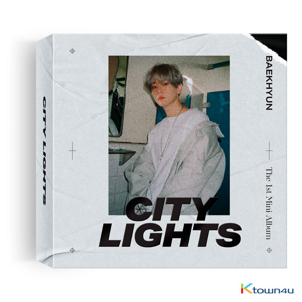 BAEK HYUN - Mini Album Vol.1 [City Lights] (Kihno Album) *Only one Kihno album can be shipped per package*