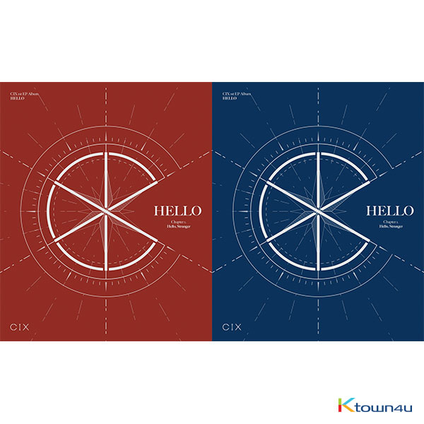 [SET][2CD SET] CIX - EP Album Vol.1 [HELLO Chapter 1. Hello, Stranger] (Hello Ver. + Stranger Ver.)