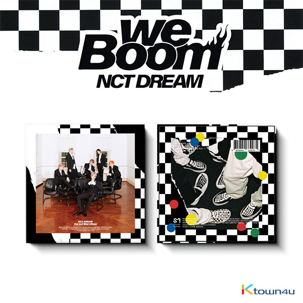 NCT DREAM - Mini Album Vol.3 [We Boom] (Kihno Album) *Due to the built-in battery of the Khino album, only 1 item could be ordered and shipped at a time.