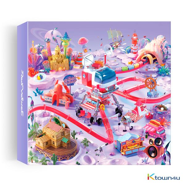 Red Velvet - Mini Album [The ReVe Festival Day 2] (Kihno Album) *Due to the built-in battery of the Khino album, only 1 item could be ordered and shipped at a time.