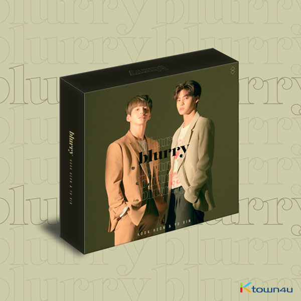 KOOK HEON & YU VIN - Single  Kit Album [blurry] *Due to the built-in battery inside, only 1 item can be shipped per package