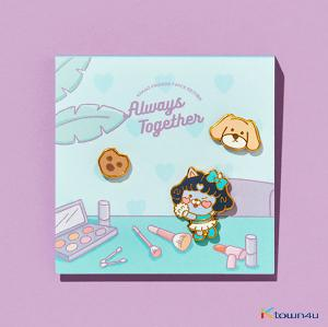 TWICE - TWICE EDITION PIN BADGE (MINA) (*Order can be canceled cause of early out of stock)