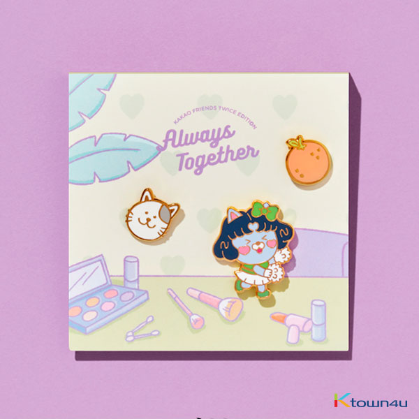 TWICE - TWICE EDITION PIN BADGE (JEONGYEON) (*Order can be canceled cause of early out of stock)