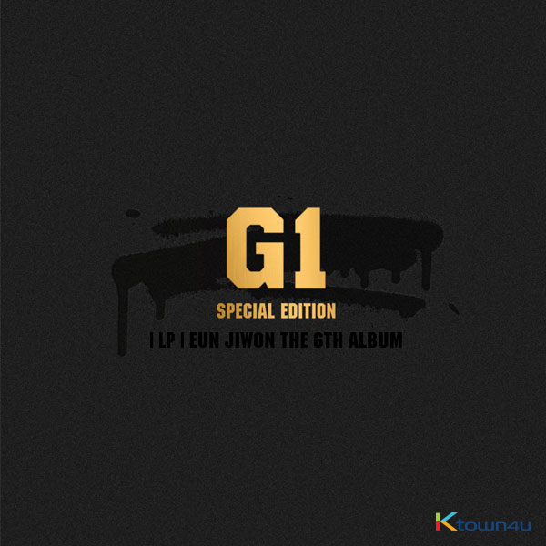 EUN JIWON - SPEACIAL EDITION LP Album [EUN JIWON THE 6TH ALBUM : G1] (Limited Edition)