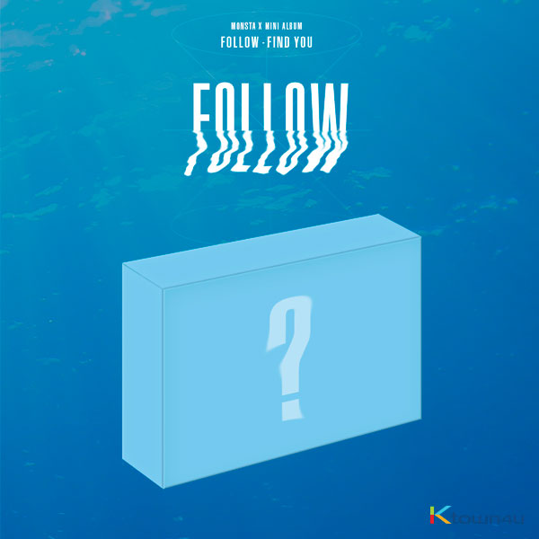 MONSTA X - Mini Album [FOLLOW - FIND YOU] (Kihno Album) *Due to the built-in battery of the Khino album, only 1 item could be ordered and shipped at a time.