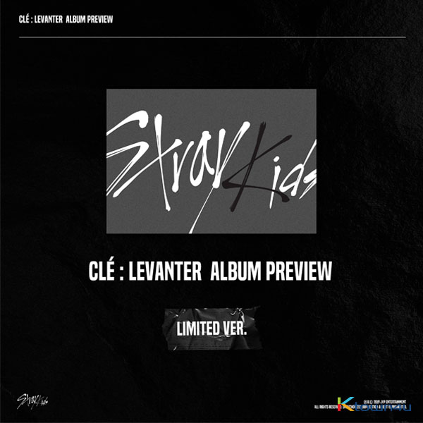 Stray Kids - Mini Album [Clé : LEVANTER] (Limited Edition) *Pre-order period from Oct 10 to Nov 11 at 11:00