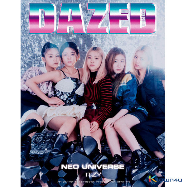 Dazed & Confused Korea 2019.11 A Type (Cover : ITZY / content Lee Hong Gi)