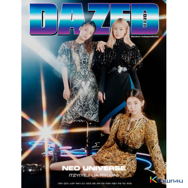 Dazed & Confused Korea 2019.11 B Type (Cover : ITZY / content Lee Hong Gi)