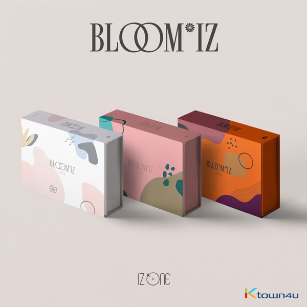 [SET][3CD SET] IZ*ONE - Album Vol.1 [BLOOM*IZ] (I WAS Ver. + I AM Ver. + I WILL Ver.)