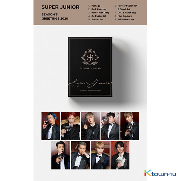 Super Junior - 2020 SEASON'S GREETINGS (Only Ktown4u's Special Gift : All Member Photocard set)
