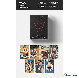 WayV - 2020 SEASON'S GREETINGS (Only Ktown4u's Special Gift : All Member Photocard set)