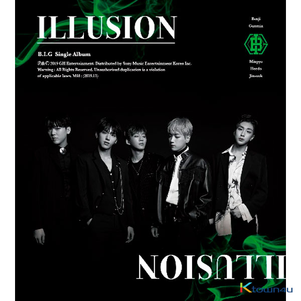 B.I.G - Single Album [ILLUSION]