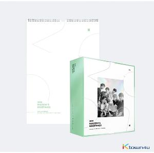 [SET] BTS - 2020 SEASON'S GREETING + 2020 WALL CALENDAR (Limited Edition) (*Order can be canceled cause of early out of stock)