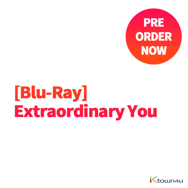 [Blu-Ray] Extraordinary You (SF9 : ROWOON) *If Pre-order qty is not enough to producing , you ordered can be canceled.