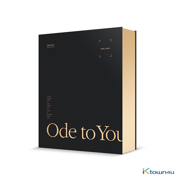 [DVD] Seventeen - SEVENTEEN WORLD TOUR [ODE TO YOU] IN SEOUL DVD