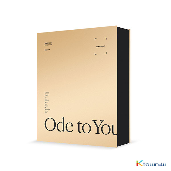 [Blu-Ray] Seventeen - SEVENTEEN WORLD TOUR [ODE TO YOU] IN SEOUL  BLU-RAY