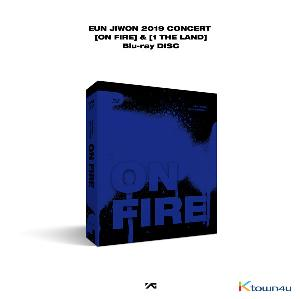 [Blu-Ray] EUN JIWON - EUN JIWON 2019 CONCERT [ON FIRE] & [1 THE LAND] Blu-ray Disc * It will be manufactured order qt'y which is ordered completely in pre-order period.