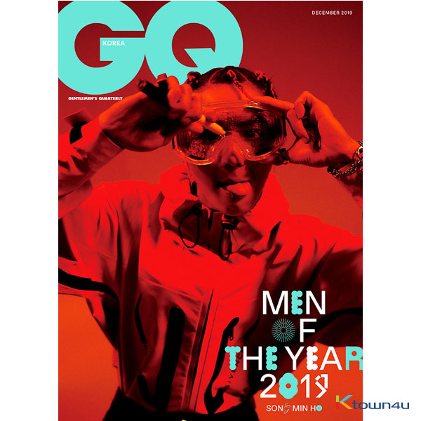 GQ KOREA 2019.12 A Type (MINO)