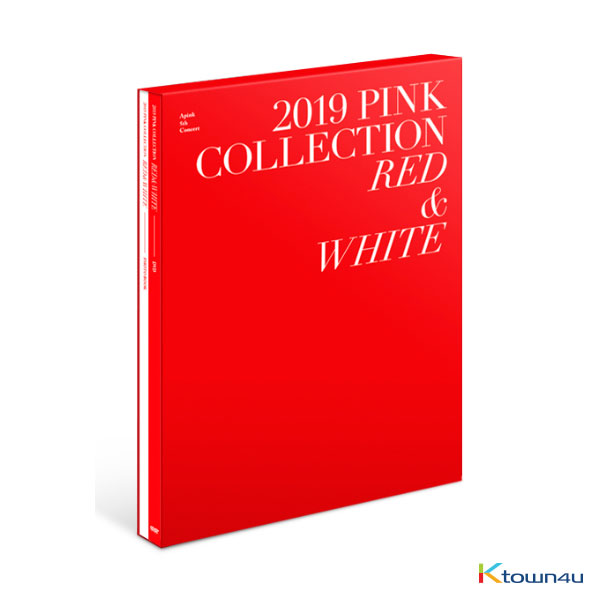 [DVD] Apink - APINK 5th CONCERT PINK COLLECTION [RED & WHITE] DVD