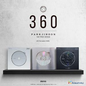Park Ji Hoon - Mini Album Vol.2 [360] (0 Degrees Ver.)