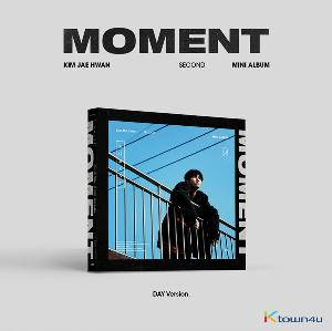 Kim Jae Hwan - Mini Album Vol.2 [MOMENT] (Day Ver.) (*Different versions poster will be sent in case of purchasing 2 or more album)