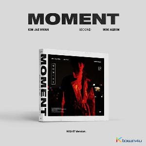 Kim Jae Hwan - Mini Album Vol.2 [MOMENT] (Night Ver.) (*Different versions poster will be sent in case of purchasing 2 or more album)