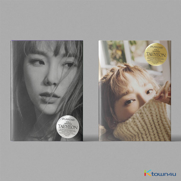 TAEYEON - Album Vol.2 Repackage [Purpose] (Random Ver.) (*Different versions will be sent in case of purchasing 2 or more)