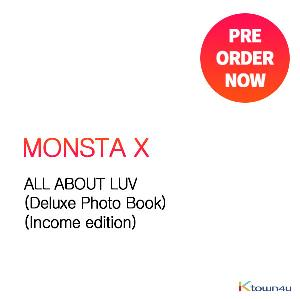MONSTA X - ALL ABOUT LUV (Deluxe Photo Book) (Income edition)