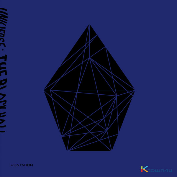 PENTAGON - Album Vol.1 [UNIVERSE : THE BLACK HALL] (DOWNSIDE Ver.) *Ktown4u Pre-order benefit : *Ktown4u Pre-order benefit : Photocard 2p 1set