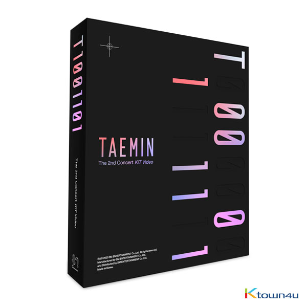 TAEMIN - 2nd CONCERT [T1001101] KiT Video *Due to the built-in battery of the Khino album, only 1 item could be ordered and shipped to abroa