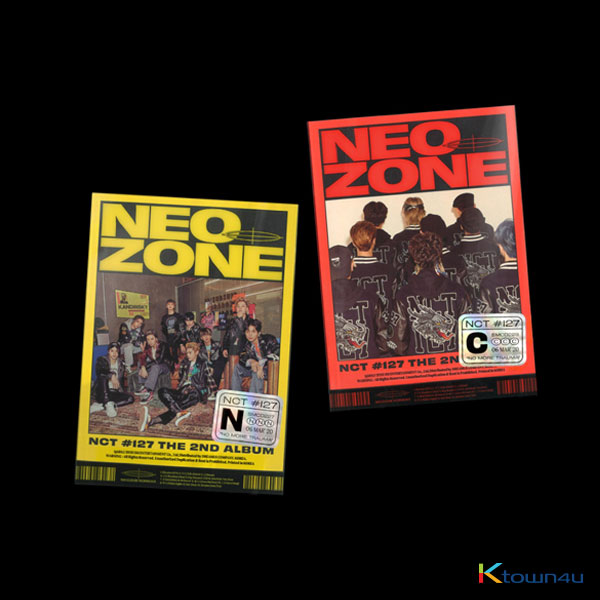 NCT 127 - Album Vol.2 [NCT #127 Neo Zone] (Random Ver.) *will be sent sequentially from 13th Apr.