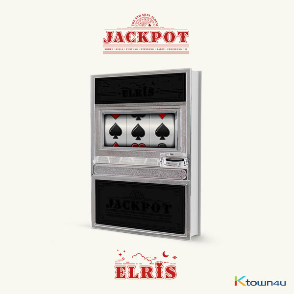 ELRIS - Mini Album Vol.4 [JACKPOT] (Black Ver.)