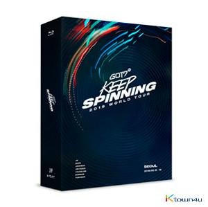 [Blu-Ray] GOT7 - GOT7 2019 WORLD TOUR 'KEEP SPINNING' IN SEOUL BLU-RAY