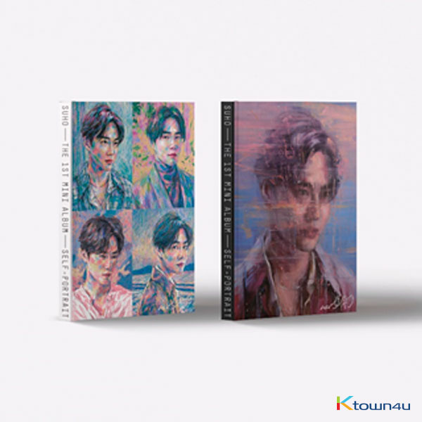 SUHO - Mini Album Vol.1 [Self-Portrait] (Random Ver.) (*Different versions poster and album will be sent in case of purchasing 2 or more album)