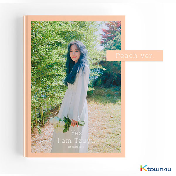 [@TWICEMalaysiaFC] [Photobook] Tzuyu - 1ST PHOTOBOOK [Yes, I am Tzuyu] (Peach Ver.)