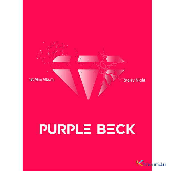 PurpleBeck - Mini Album Vol.1 [Starry Night] (500p Limited signed Edition) *Ktown4u Pre-order benefit : Unrevealed Photocard 2p 1set