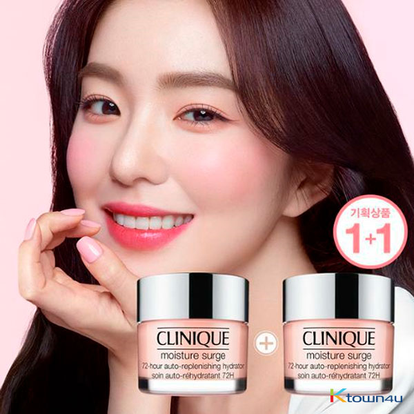 CLINIQUE 72hour moisture surge 50ml + 50ml (Irene Photocard Random 2p out of 6p) *Order can be canceled cause of early out of stock)