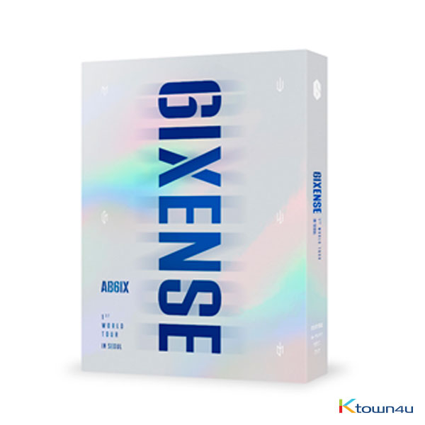 [Blu-Ray] AB6IX - AB6IX 1ST WORLD TOUR <6IXENSE> IN SEOUL BLU-RAY