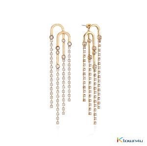 GLAM Sparkle Earrings (YELLOW GOLD)
