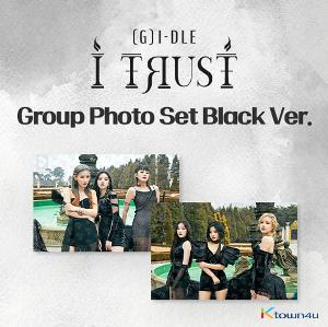 (G)I-DLE - (G)I-DLE X LIPSS [I TRUST JACKET BEHIND CUT] (Group Black Color)