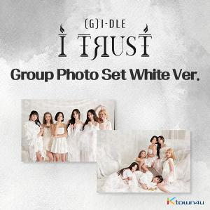 (G)I-DLE - (G)I-DLE X LIPSS [I TRUST JACKET BEHIND CUT] (Group White Color)