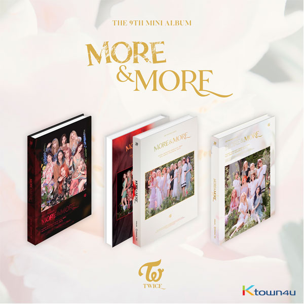 TWICE - Mini Album Vol.9 [MORE & MORE] (Random Ver.)