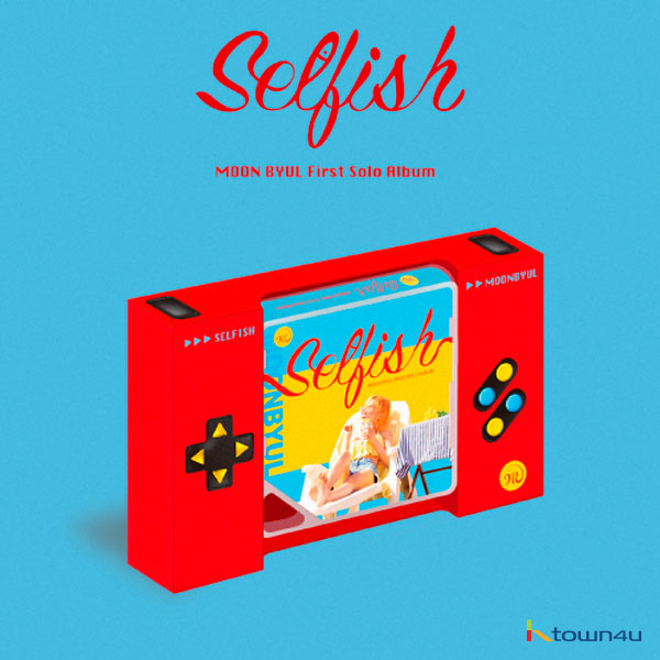 [@MAMAMOOPR] Moon Byul - Solo Album Vol.1 [SELFISH] (Kit Album) *Due to the built-in battery of the Khino album, only 1 item could be ordered and shipped at a time.