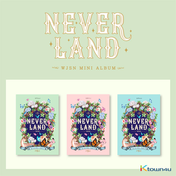 WJSN (Cosmic Girls) - Mini Album [Neverland] (Random Ver.) (second press)