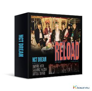 NCT DREAM - Album [Reload] (Kit Album) *Due to the built-in battery of the Khino album, only 1 item could be ordered and shipped at a time.