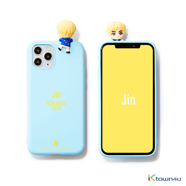 BTS- BTS Character Figure Color Jelly Case_Nickname (JIN)