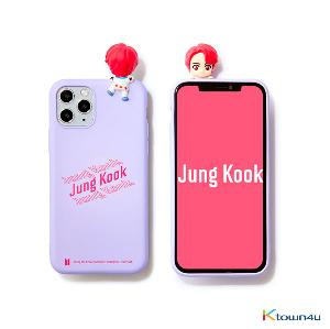 BTS- BTS Character Figure Color Jelly Case_Stairs (JUNG KOOK)
