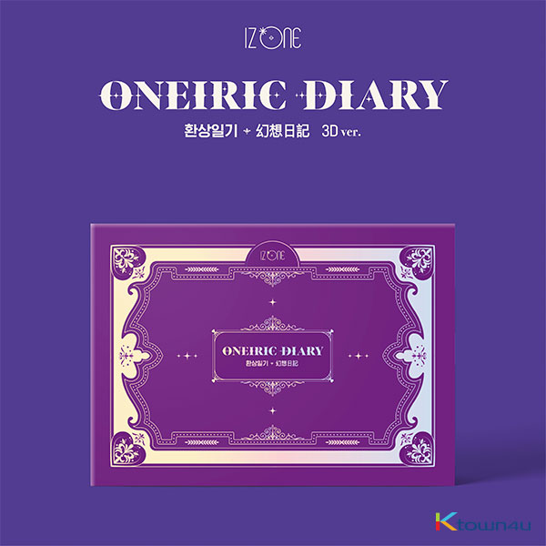 [IZ*ONE ALBUM] IZ*ONE - Mini Album Vol.3 [Oneiric Diary] (3D Ver.) *Unable to apply for a signing event